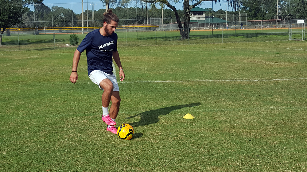 RST Athlete Cody Performing Ball Control Drills (Technical Development)