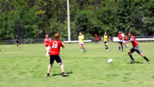 Technical Development or Ball control is key in possession soccer as opposed to direct soccer.